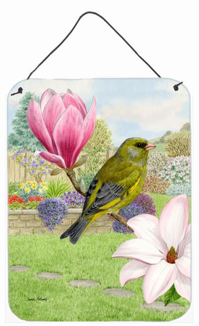 European Greenfinch Wall or Door Hanging Prints ASA2145DS1216 by Caroline's Treasures