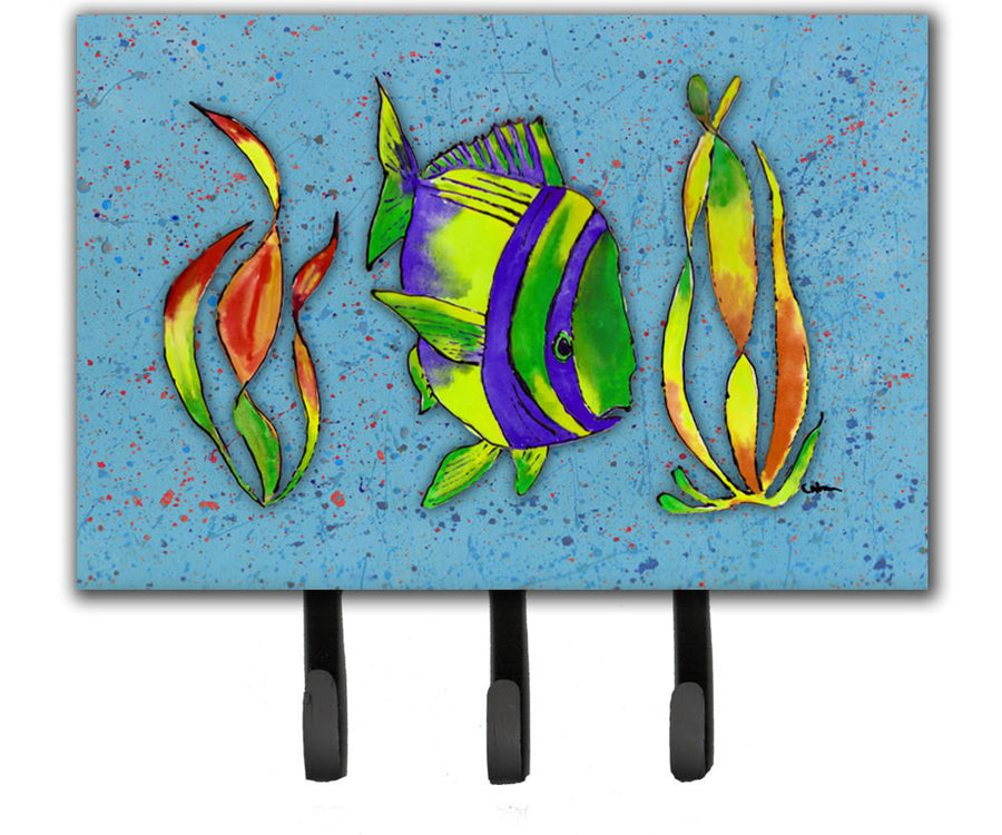 Buy this Tropical Fish on Blue Leash or Key Holder