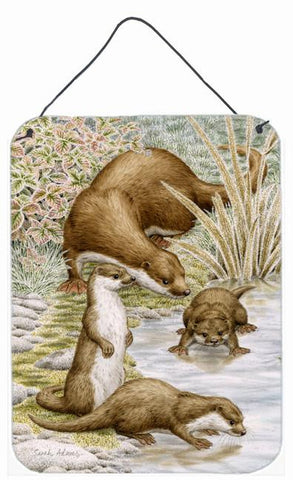 Buy this Otter Family Wall or Door Hanging Prints ASA2075DS1216