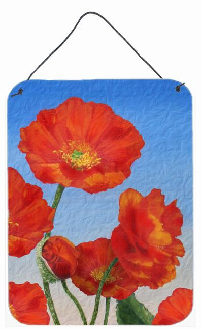 Buy this Poppies by Sinead Jones Wall or Door Hanging Prints JOS0273DS1216