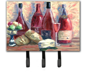 Buy this Wine and Cheese by David Smith Leash or Key Holder SDSM0127TH68