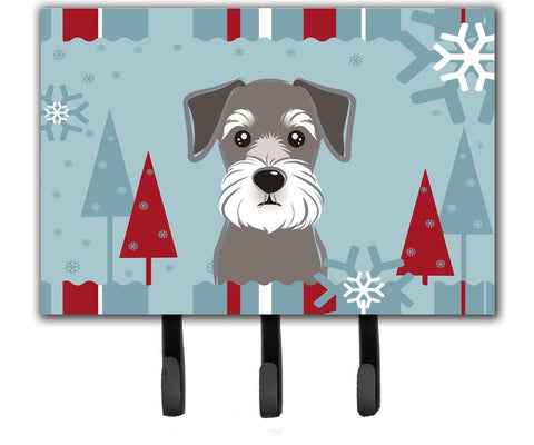 Buy this Winter Holiday Schnauzer Leash or Key Holder BB1702TH68