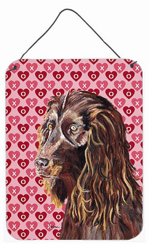 Buy this Boykin Spaniel Valentine's Love Aluminium Metal Wall or Door Hanging Prints