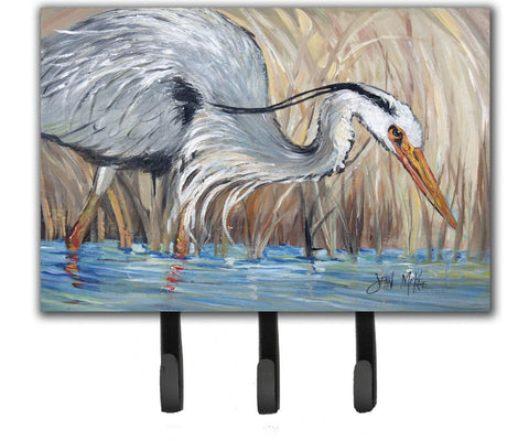 Buy this Blue Heron in the reeds Leash or Key Holder JMK1013TH68