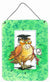 Graduation The Wise Owl Wall or Door Hanging Prints APH8469DS1216 by Caroline's Treasures