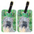 Buy this Pair of 2 Berger des Pyrenese Luggage Tags