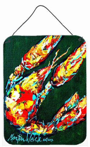 Buy this Craw Baby on Green Crawfish Wall or Door Hanging Prints MW1194DS1216