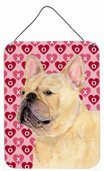 Buy this French Bulldog Hearts Love and Valentine's Day Wall or Door Hanging Prints