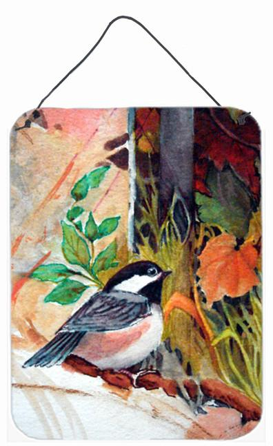 Buy this Fence Sitter Chickadee Wall or Door Hanging Prints PJC1059DS1216