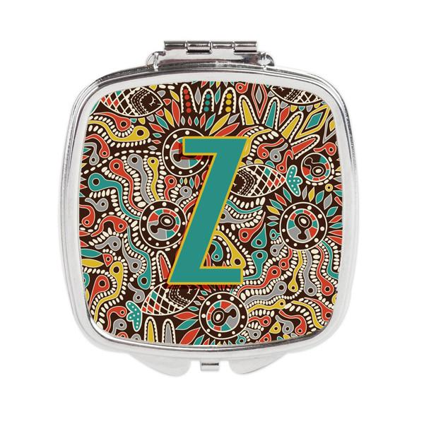 Buy this Letter Z Retro Tribal Alphabet Initial Compact Mirror CJ2013-ZSCM