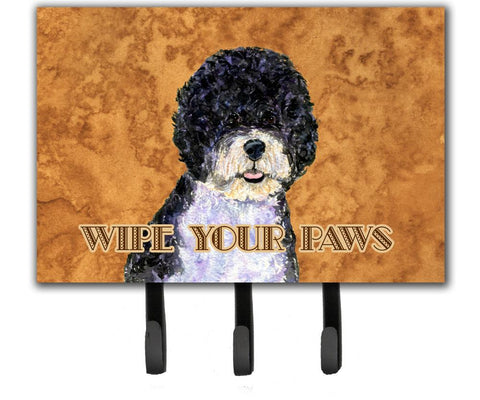 Buy this Portuguese Water Dog Wipe your Paws Leash or Key Holder