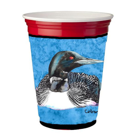 Buy this Bird - Loon  Red Solo Cup Beverage Insulator Hugger
