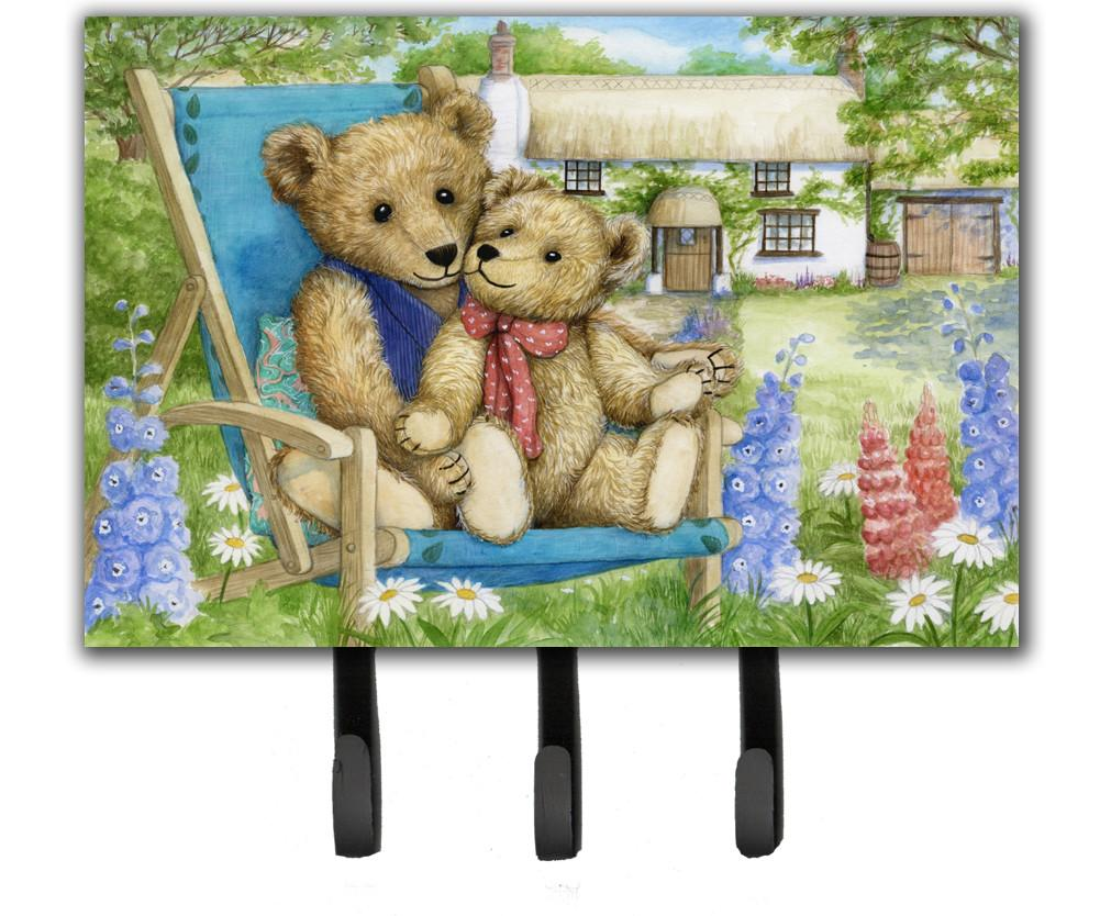 Springtime Teddy Bears in Flowers Leash or Key Holder CDCO0306TH68 by Caroline's Treasures