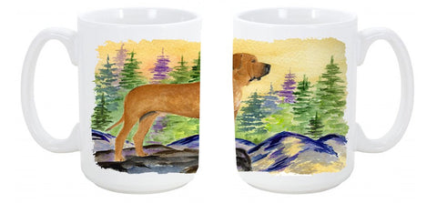 Buy this Tosa Inu Dishwasher Safe Microwavable Ceramic Coffee Mug 15 ounce SS8195CM15