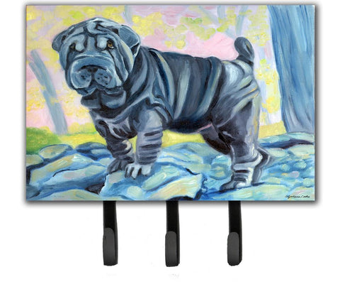 Buy this Blue Shar Pei Leash or Key Holder 7333TH68