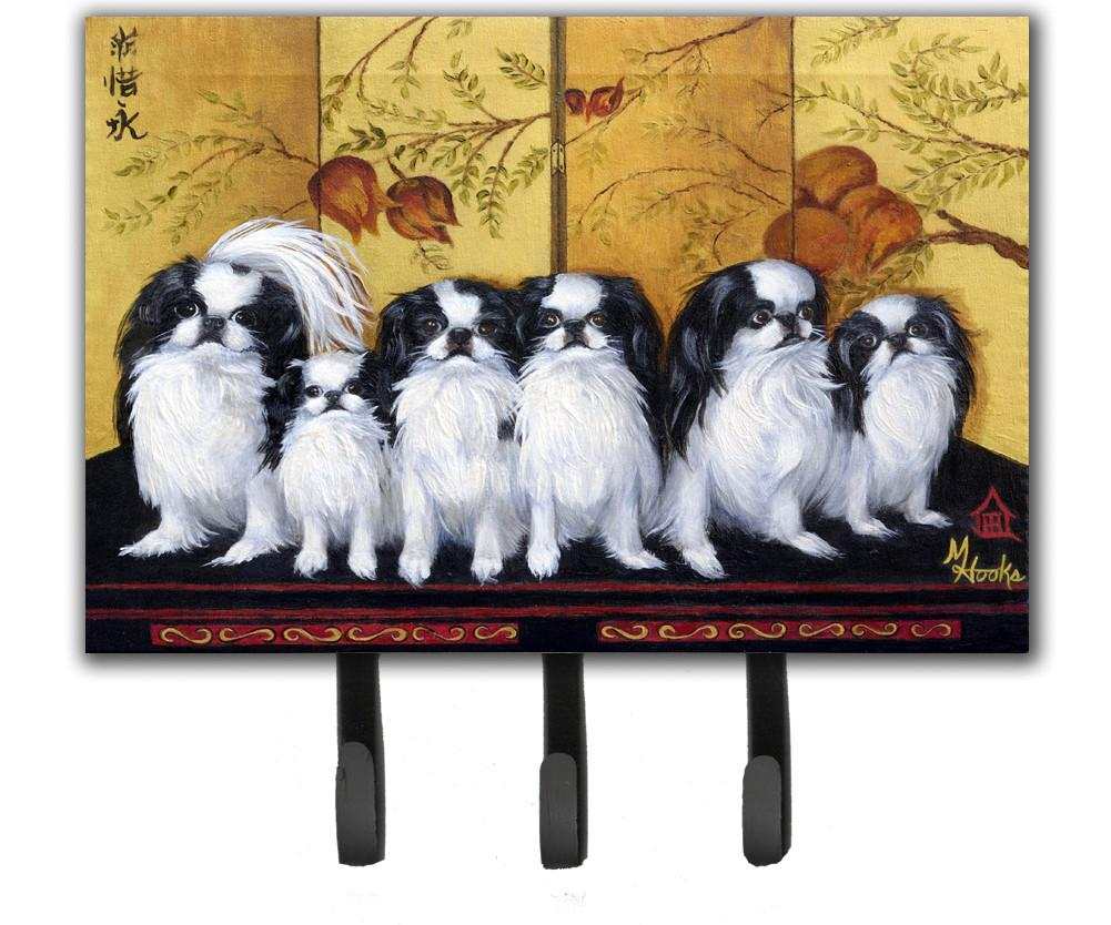 Japanese Chin Tea House Leash or Key Holder MH1060TH68 by Caroline's Treasures