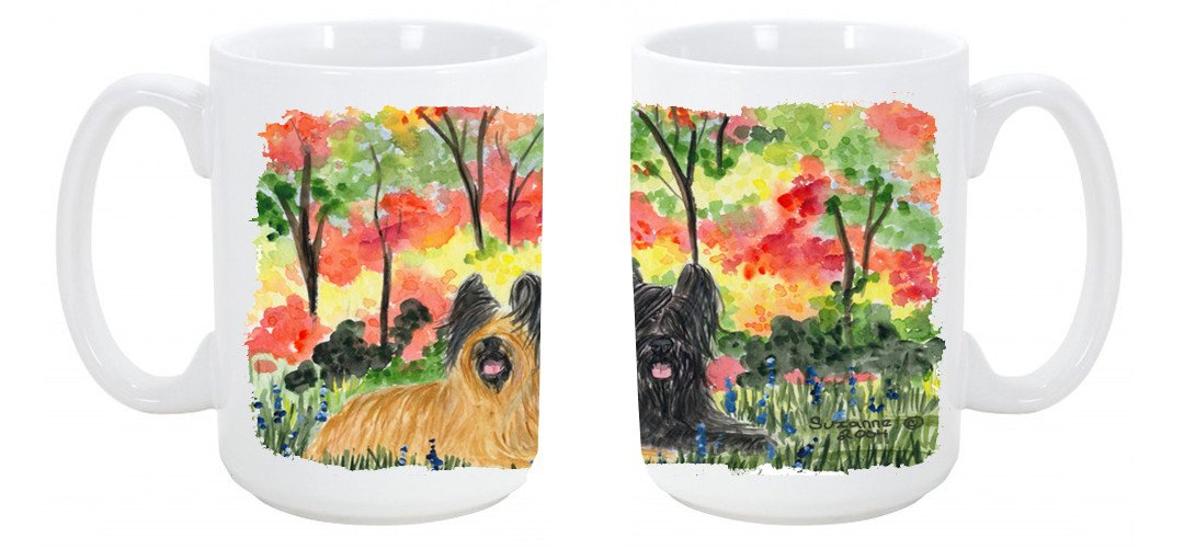 Buy this Briard Dishwasher Safe Microwavable Ceramic Coffee Mug 15 ounce SS8045CM15