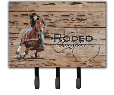 Buy this Rodeo Cowgirl Barrel Racer Leash or Key Holder SB3055TH68