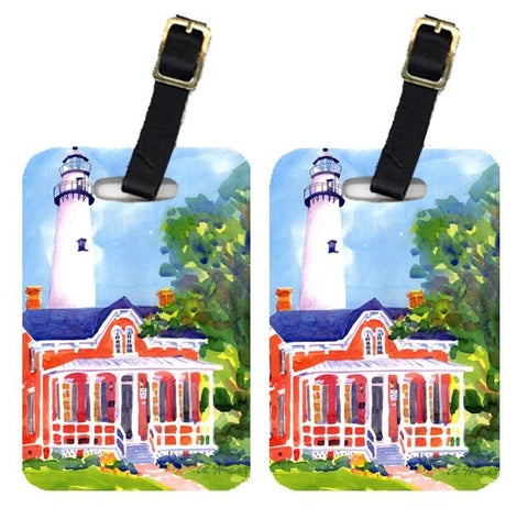 Buy this Pair of 2 Lighthouse Luggage Tags