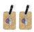 Pair of Swordfish Luggage Tags by Caroline's Treasures