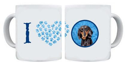 Dachshund Dishwasher Safe Microwavable Ceramic Coffee Mug 15 ounce by Caroline's Treasures