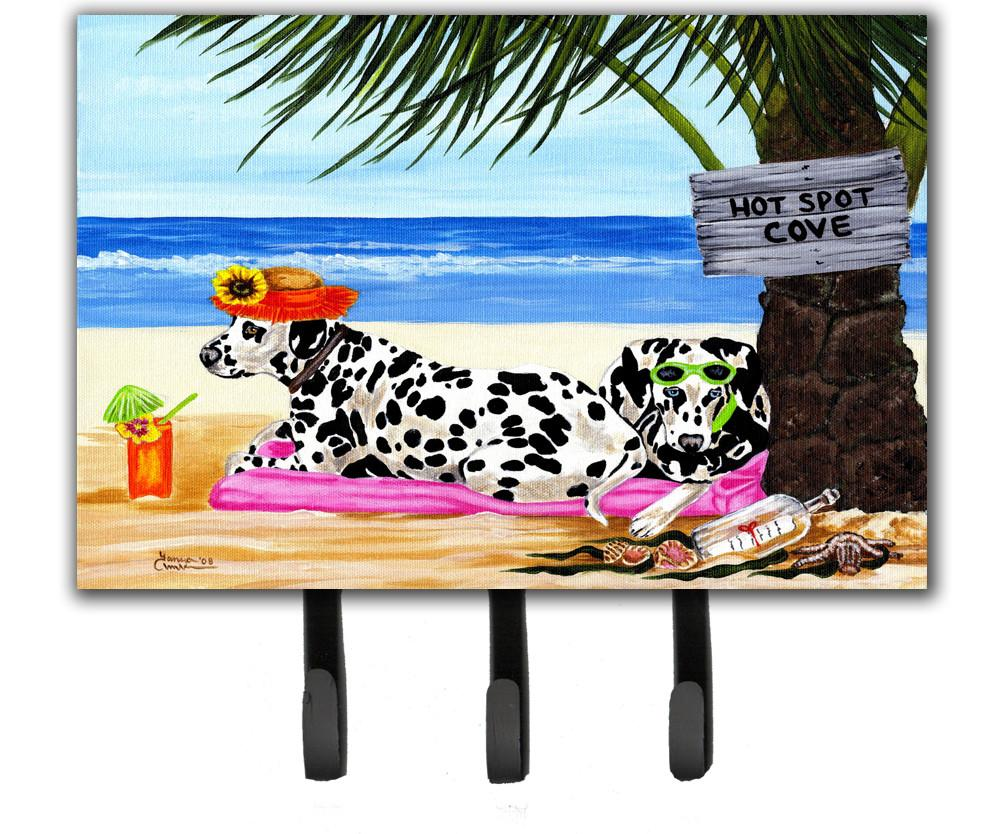 Hot Spot Cove Beach Dalmatian Leash or Key Holder AMB1342TH68 by Caroline's Treasures