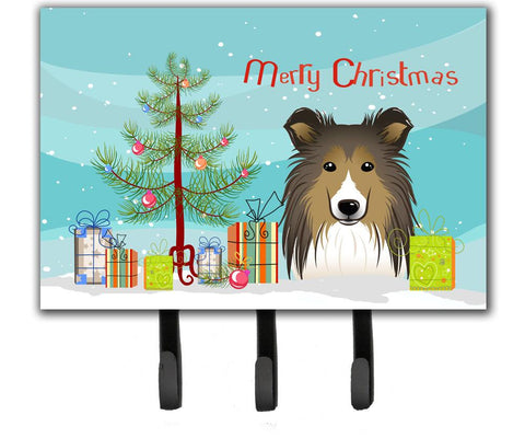 Buy this Christmas Tree and Sheltie Leash or Key Holder BB1614TH68