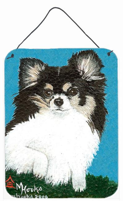 Chihuahua Cute Face Wall or Door Hanging Prints MH1022DS1216 by Caroline's Treasures