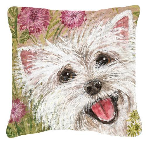 Buy this Westie by Judith Yates Canvas Decorative Pillow JYJ0018PW1414