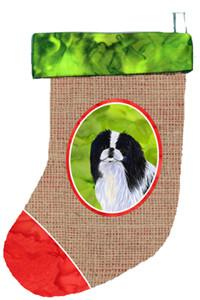 Buy this Japanese Chin Christmas Stocking SS2091