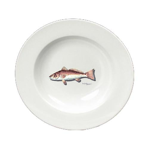 Buy this Fish Red Fish Ceramic - Bowl Round 8.25 inch 8489-SBW