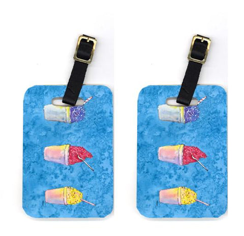 Buy this Pair of Snowballs and Snowcones Luggage Tags