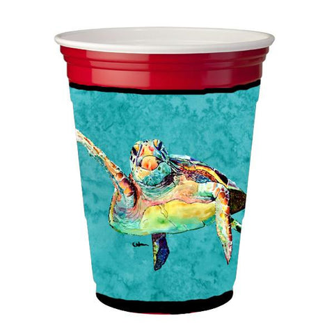 Buy this Turtle Hi Five Red Solo Cup Beverage Insulator Hugger