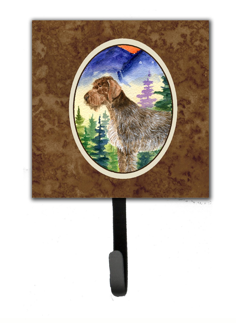 Buy this German Wirehaired Pointer Leash Holder or Key Hook