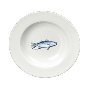 Buy this Fish Speckled Trout Ceramic - Bowl Round 8.25 inch 8496-SBW