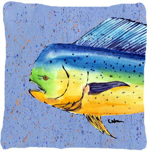 Buy this Dolphin Mahi Mahi Decorative   Canvas Fabric Pillow