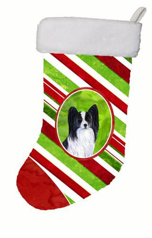 Buy this Papillon Winter Snowflakes Christmas Stocking SS4574