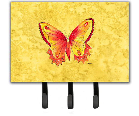 Buy this Butterfly on Yellow Leash or Key Holder