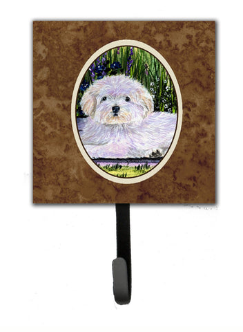 Buy this Coton de Tulear Leash Holder or Key Hook
