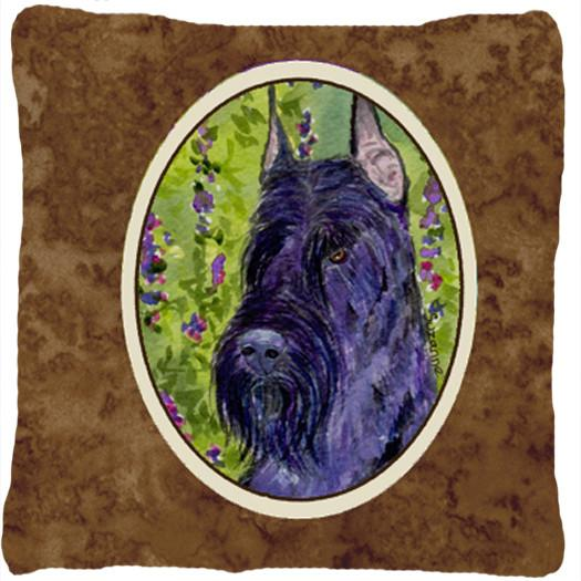 Buy this Scottish Terrier  Decorative   Canvas Fabric Pillow