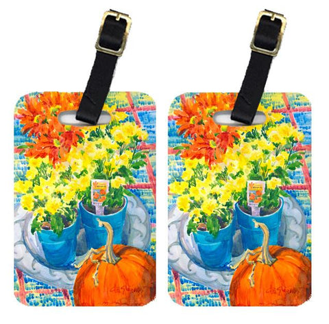 Buy this Pair of 2 Flower - Mums Luggage Tags