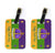 Pair of 2 Mardi Gras Luggage Tags by Caroline's Treasures