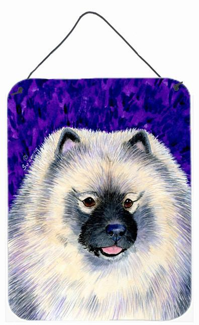 Keeshond Aluminium Metal Wall or Door Hanging Prints by Caroline's Treasures