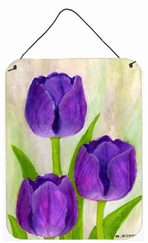 Buy this Purple Tulips by Maureen Bonfield Wall or Door Hanging Prints BMBO1033DS1216