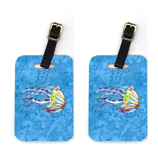 Buy this Pair of Jellyfish Luggage Tags