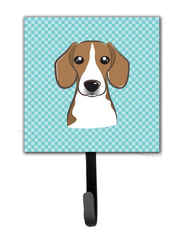 Buy this Checkerboard Blue Beagle Leash or Key Holder BB1177SH4
