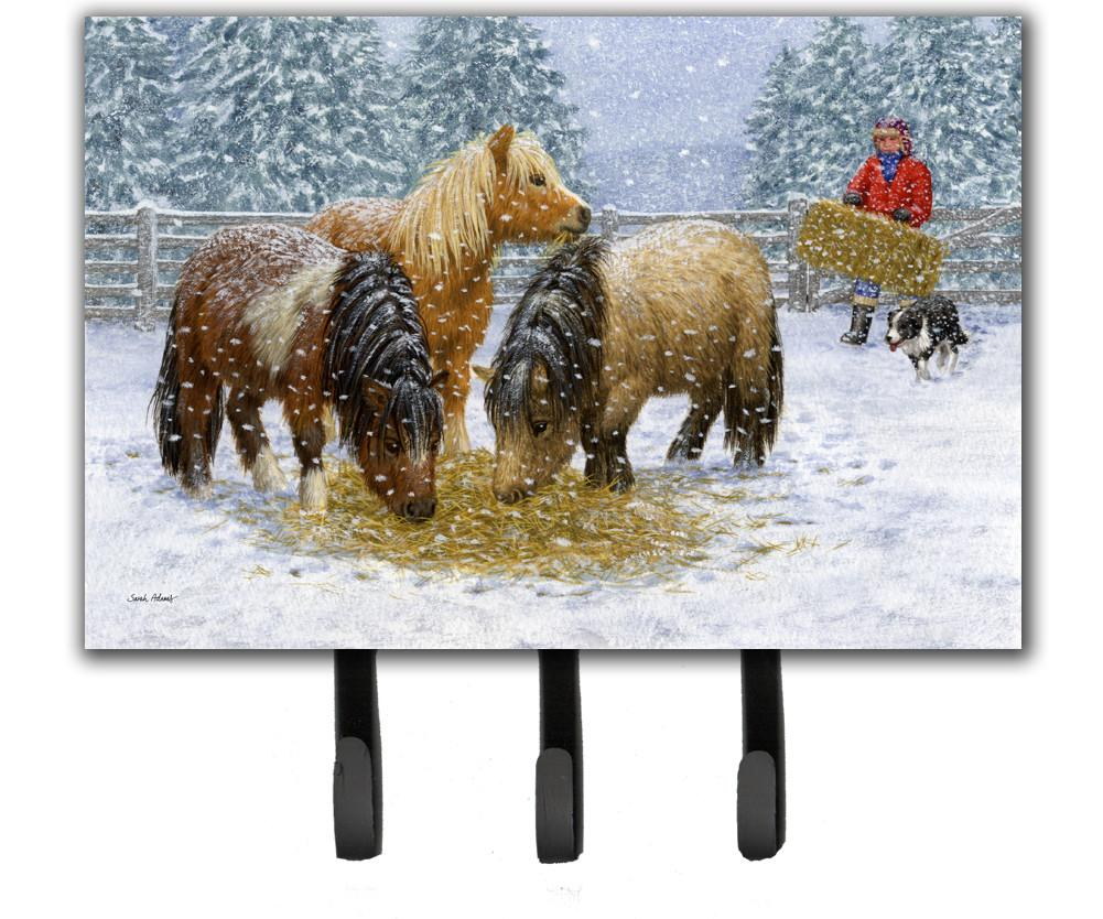 Buy this Shetland Ponies Leash or Key Holder ASA2206TH68