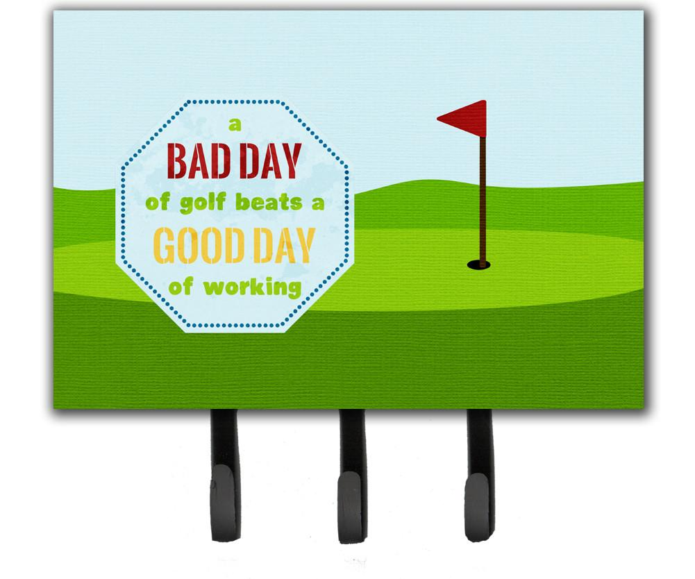 Buy this A Bad Day at Golf Leash or Key Holder SB3091TH68