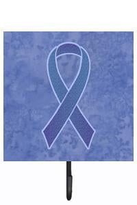 Buy this Periwinkle Blue Ribbon for Esophageal and Stomach Cancer Awareness Leash or Key Holder AN1208SH4