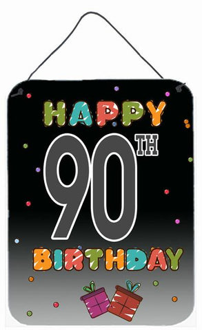 Buy this Happy 90th Birthday Wall or Door Hanging Prints CJ1128DS1216